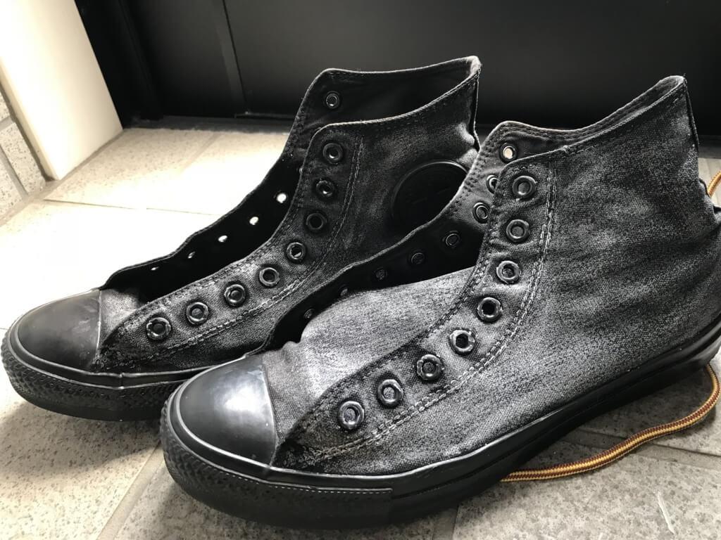 , スニーカーを防水撥水加工に!コンバースオールスターなどキャンバス生地の靴を雨の日でも使えるようにする!, GreenTimes(グリーンタイムス)